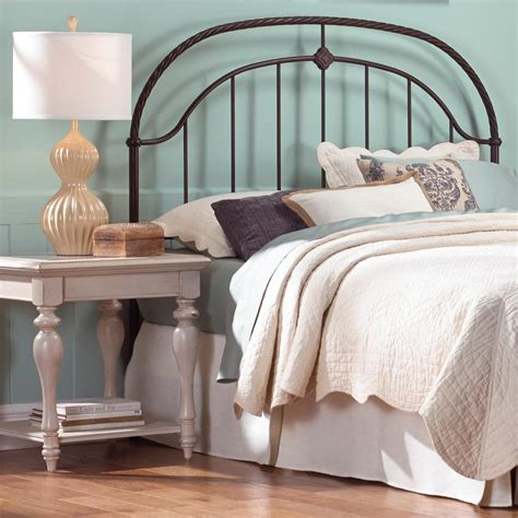 rope headboard fashion bed group cascade king size headboard with metal