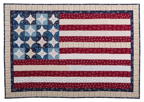Quilts American by Inspired By Fabric Happy 4th Of July