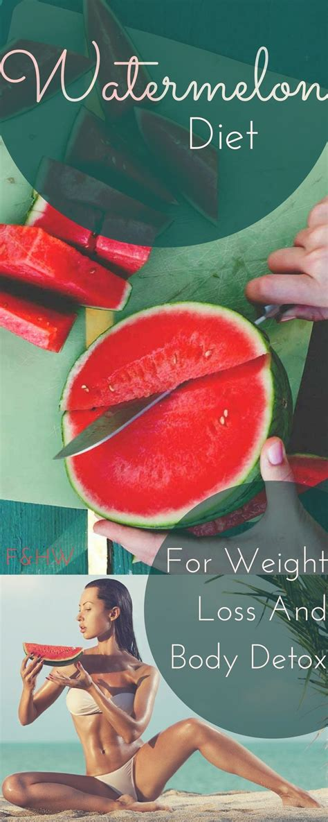 The Watermelon Diet For Weight Loss And Detoxing by Healthy Watermelon Diet For Weight Loss And Detox
