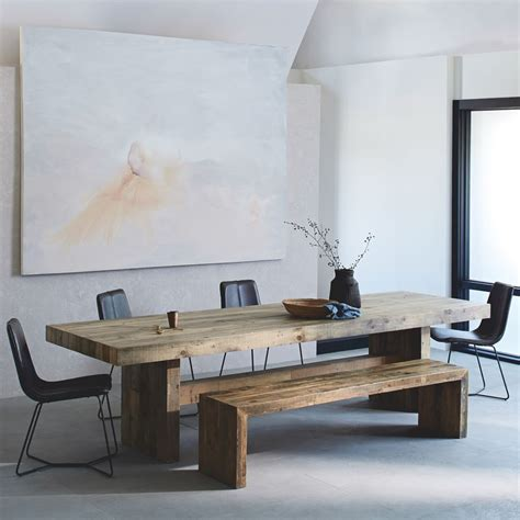 reclaimed wood dining table emmerson reclaimed wood dining table elm uk