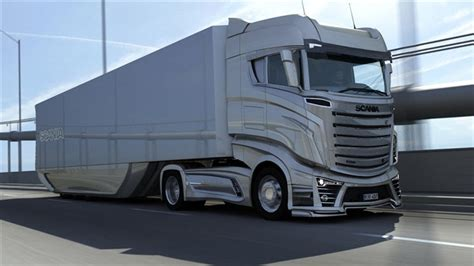 scania trucks what could be the scania trucks of near future future