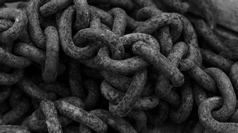 black chains black metal chain macro wallpaper 1920x1080 232897