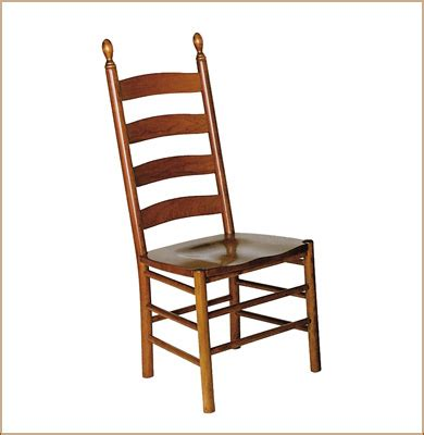 Shaker Ladder Back Chair by Eh Shaker Ladder Back Side Chair Chairs Amish