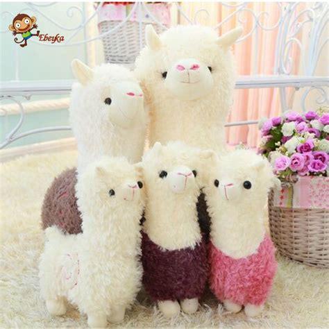 new year animals toys alpaca plush doll fabric sheep stuffed animal plush