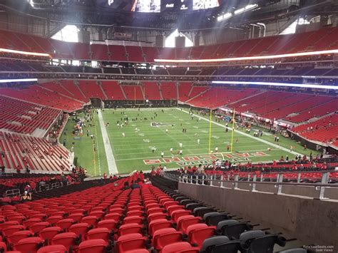 what is a section 59 mercedes benz stadium section 103 atlanta falcons