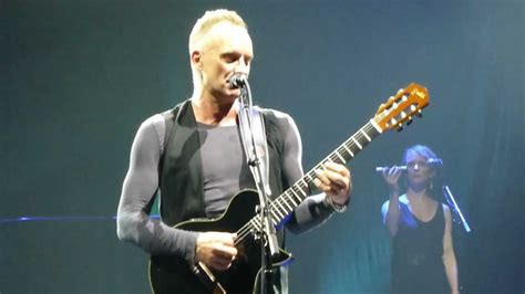 Sting Out Bland Keyboards by Sting Fragile Back To Bass Tour Live In ł 243 Dź Atlas