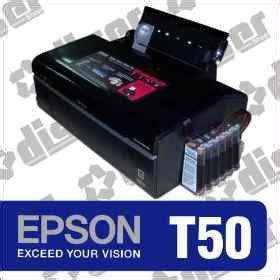 reset epson t50 sistema continuo impresora epson t50 sistema continuo tinta de sublimacion