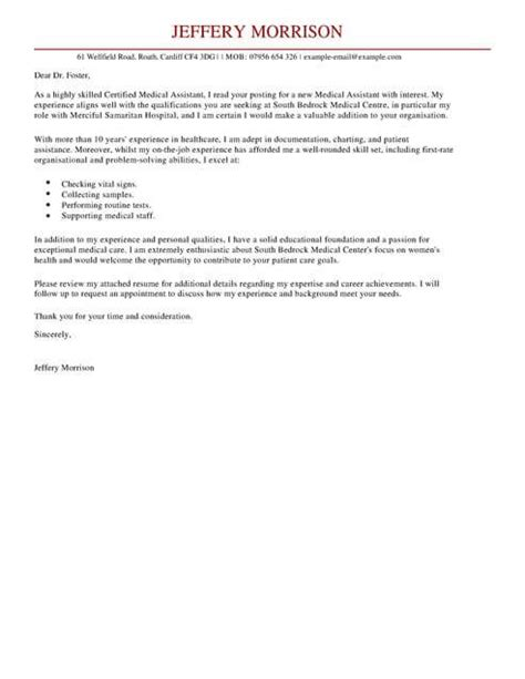 covering letter for health care assistant assistant cover letter exles for healthcare