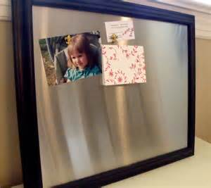 Magnetic Bulletin Board by Large Framed Magnetic Bulletin Board Memo Board