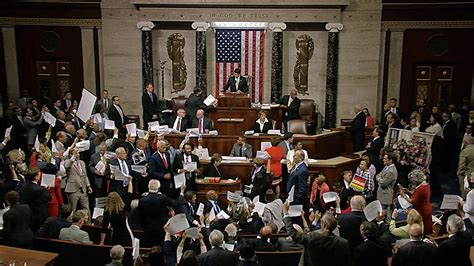 House Votes representatives chant as house returns for vote nbc news