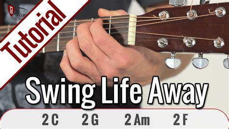 swing life away song rise against swing life away gitarren tutorial deutsch