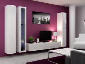 Gallery 20 images of smart tv wall cabinet with doors that inspire you