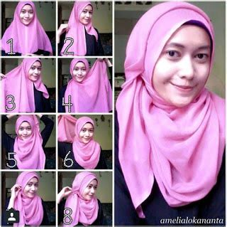 tutorial jilbab modern 2015 tutorial hijab modern tanpa ninja terbaru 2016