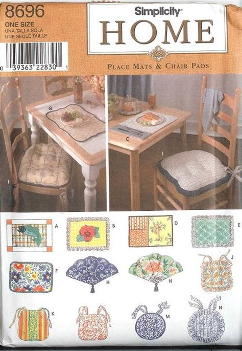 simplicity home decor patterns simplicity slip covers chair sofa ottoman home decor