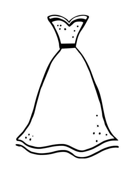 elegant dresses coloring pages printable formal dress coloring page mama likes this