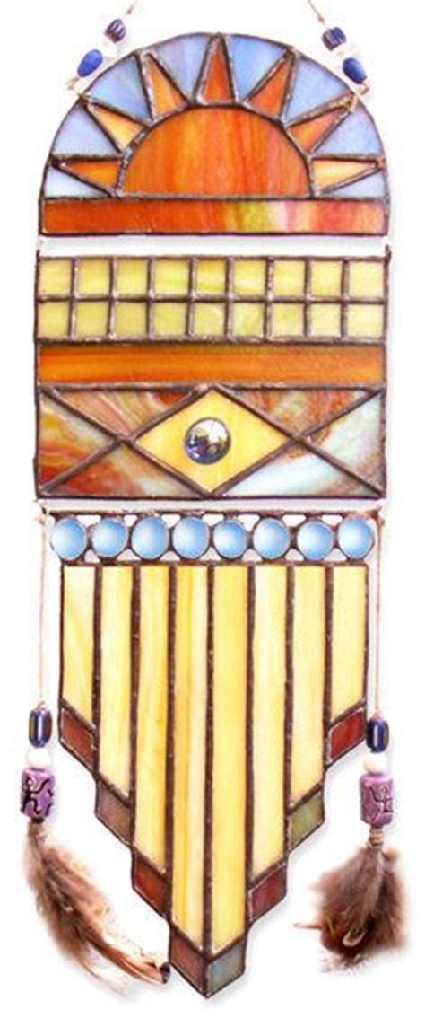 bohemian suncatcher artsy mix of eclectic custom by 17 best images about native american sw stained glass on