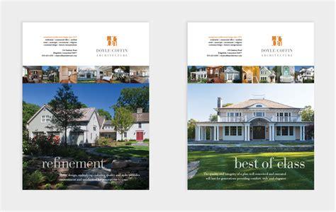 ad architectural design advertising doyle coffin architecture graphic design
