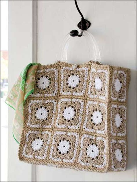 Patchwork Tote Bag Pattern Free - crochet crochet handbag patterns patchwork tote