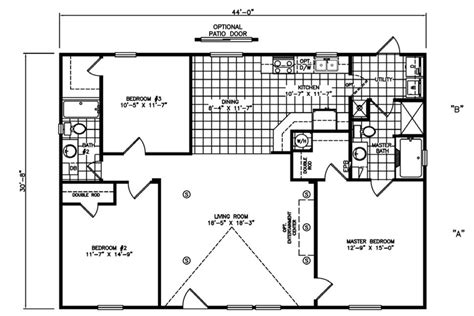 mi casa floor plan mi casa homes the flamingo manufactured home floorplans