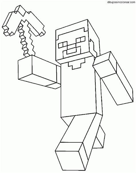 dibujos de minecraft para imprimir y colorear blogitecno dibujos de minecraft para colorear