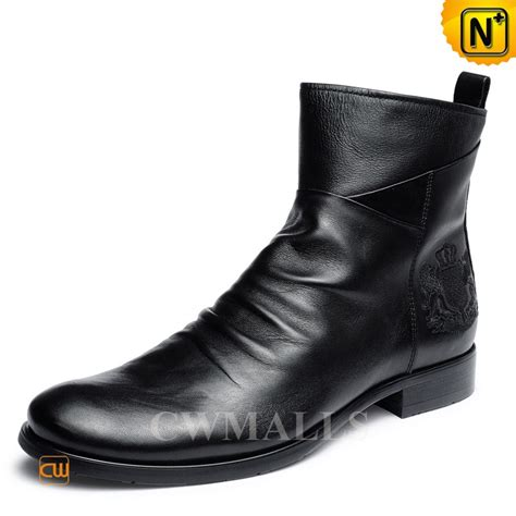 cwmalls 174 mens vintage leather ankle boots cw726502