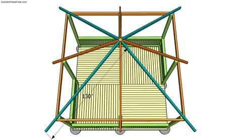 Hip Roof Pavilion Plans Outdoor Pavilion Plans Free Garden Plans How To Build