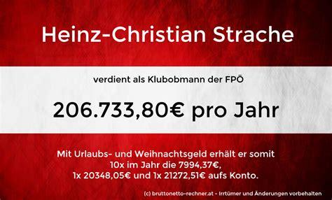 Vorlage Kündigung Abofalle Hc Strache Verdient 195 188 Ber 200 000 226 172 Im Jahr