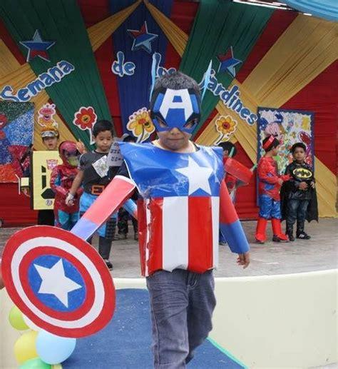 disfras con reciclaje d capitan america disfraz infantil superman casero buscar con google
