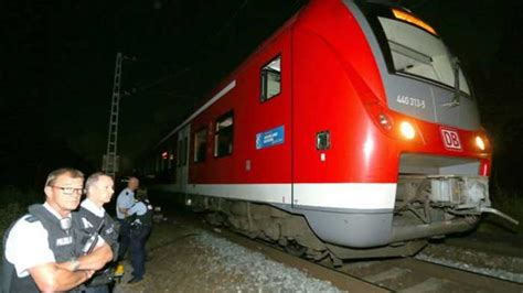 axe attack in germany germany ax attack injures several on train police kill