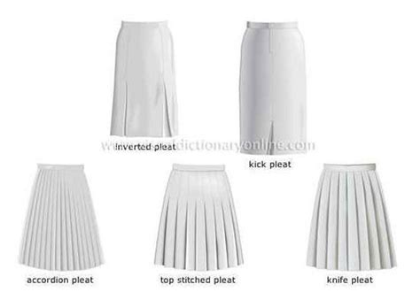 17 best images about types of pleating on