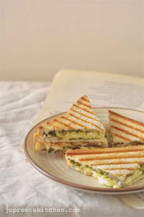 Grilled Cottage Cheese by Grilled Paneer Sandwich Simple Cottage Cheese Sandwich