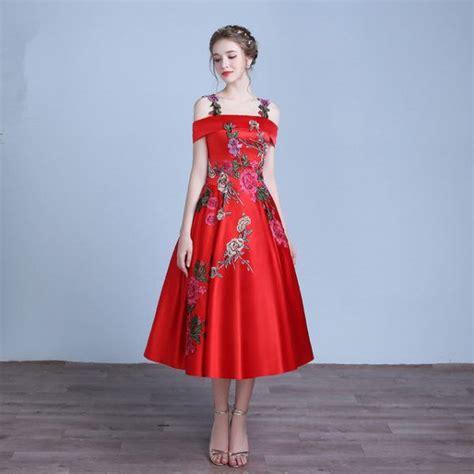 vestidos rojos corto vestidos de rojos primavera verano 2017
