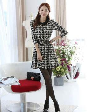 dress wanita korea motif 2014 model terbaru jual murah