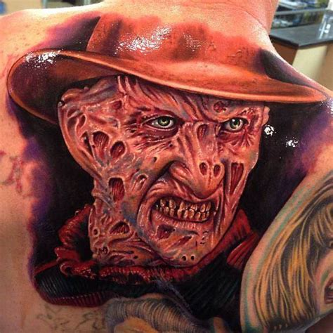 freddy tattoos design 35 freddy krueger portrait tattoos