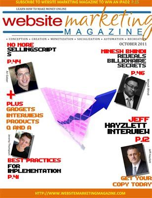 How Online Magazines Make Money - collection website marketing magazine magcloud