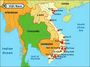 Vietnam On World Map by Similiar Location Of Vietnam In Asia Keywords