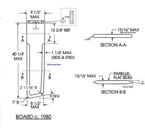 sailboat dimensions build boat guide sailboat centerboard design