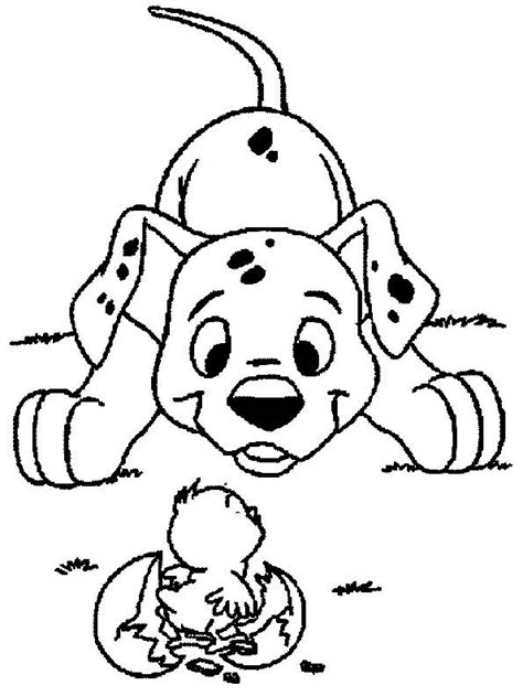 Disney coloring pages   Dalmatian   # Free Printable