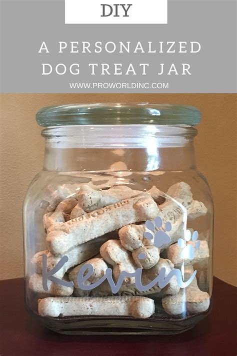 treat jar diy personalized treat jar pro world inc pro world inc