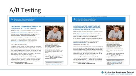 Columbia Mba Marketing by Columbia Business School Creating Stronger Connections