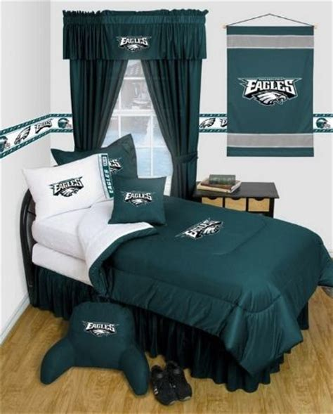 philadelphia eagles bedroom decor philadelphia eagles nfl locker room complete bedroom