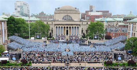 Columbia Mba Courses Per Semester by Commencement 2016 Columbia News