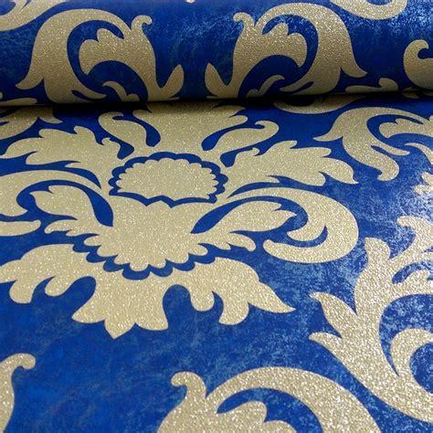 metallic blue wallpaper uk p s international damask pattern metallic marble glitter