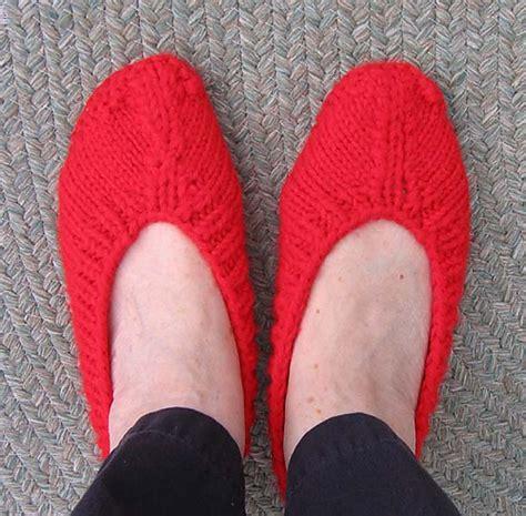 pattern knitting slippers slipper knitting patterns in the loop knitting
