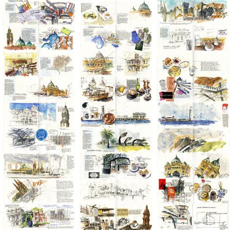 the urban sketcher techniques 1440334714 a week in melbourne urban sketchers