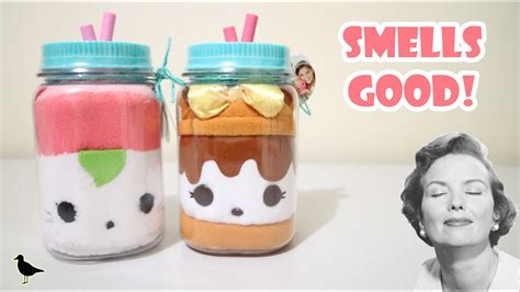 scented plush num noms in a jar opening sushi smores