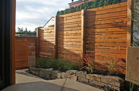 backyard privacy wall 25 beautiful fence designs to improve and accentuate yard