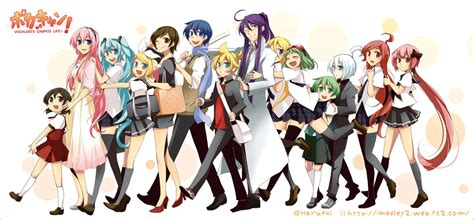 O Anime Characters by Vocaloid Anime Characters Www Pixshark Images