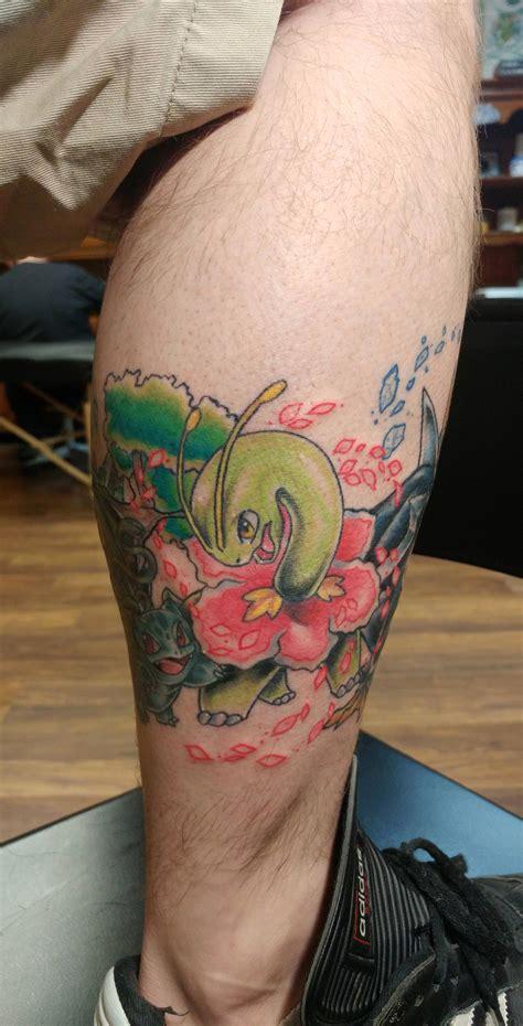 stay true tattoo sedalia mo leg done by branch stay true