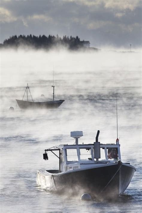 boat crash eastport sea smoke over rockport harbor maine more than one boat